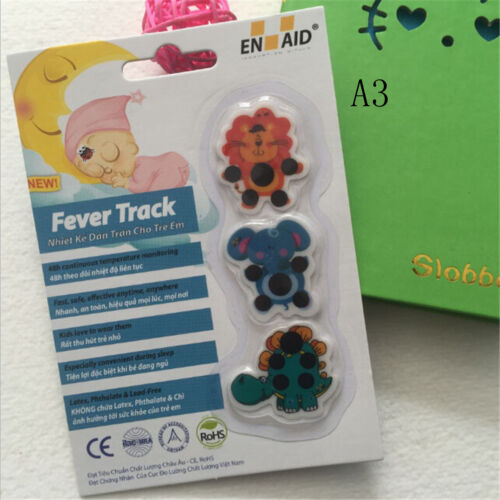 Kid medical temperature for children Baby cartoon forehead sticker thermometerTO