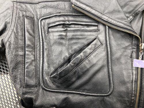 années vintage femmes de moto Veste taille Small en cuir des 80 pour OYwSq7xAq