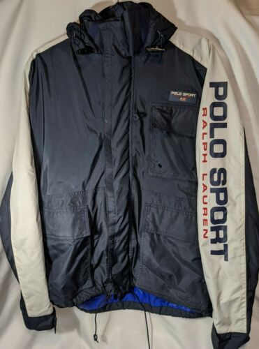 Vintage Polo Sport Yachting Jacket L 90s Sleeve Lo