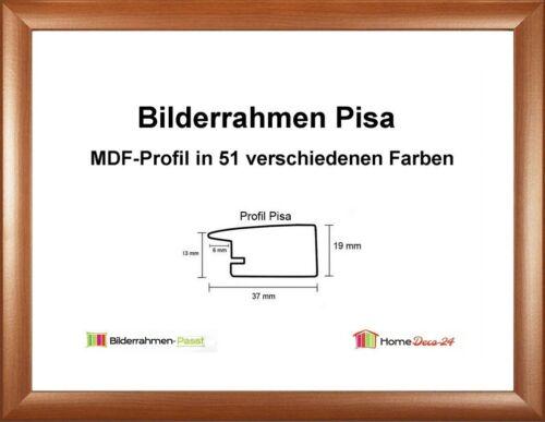 Pisa MDF-Bilderrahmen Holzdekor II von 41 x 60 bis 41 x 69 cm