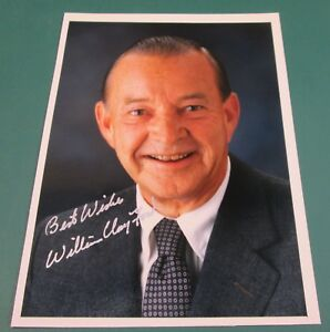 04744e588a6 Image is loading WILLIAM-CLAY-FORD-Autographed-Signed-5x7-photo-Former-