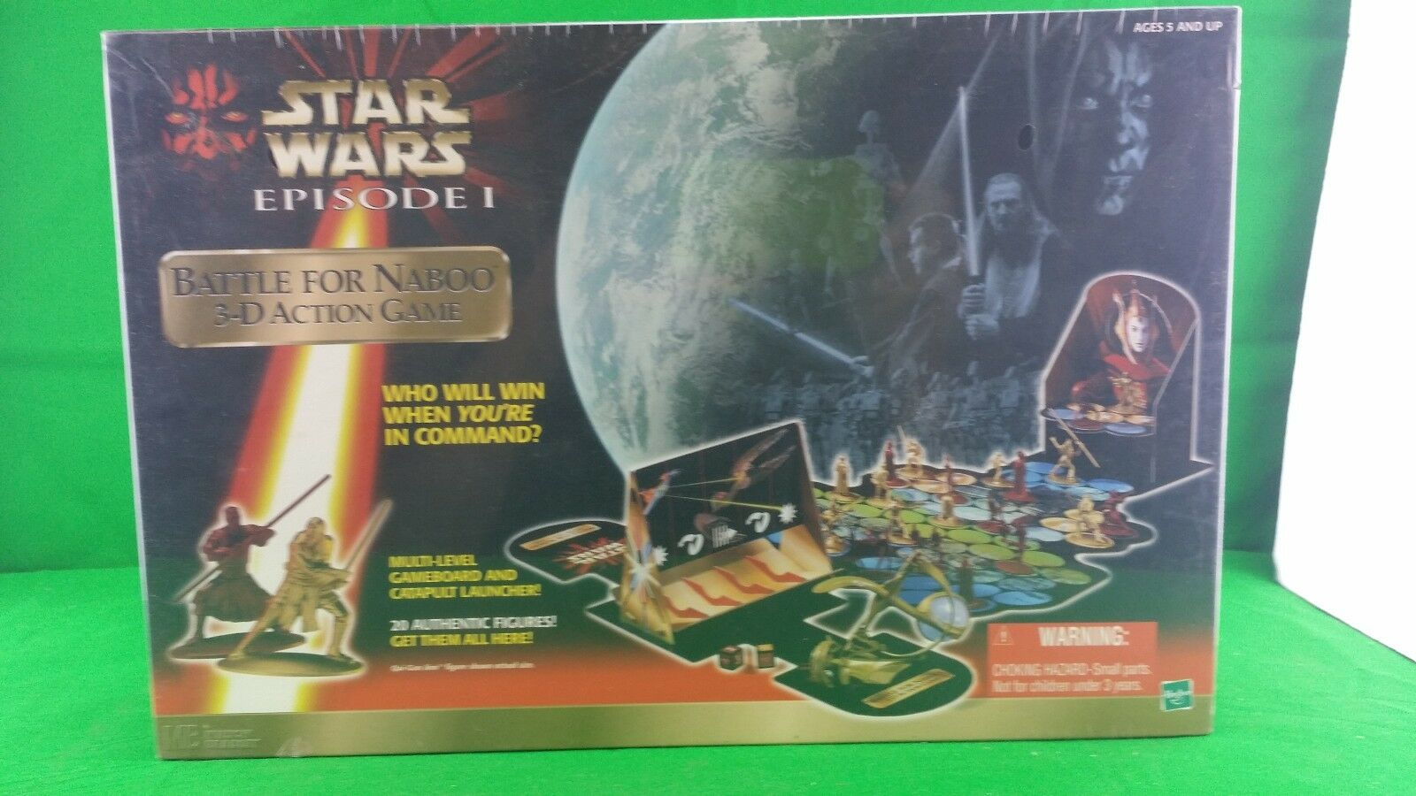 Star Wars Episode 1 Battle for Naboo 3d game NIB (Sealed)