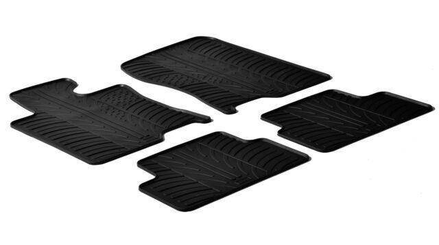 Set tappeti su misura in gomma Honda Accord 4p (6/08>11/11) Honda Accord 4p (12