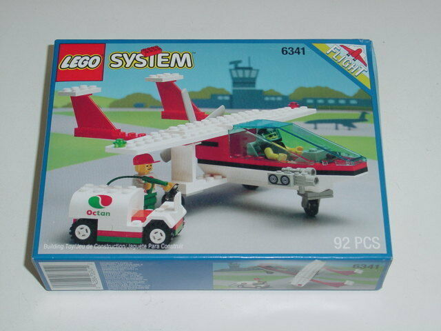 NEW Lego Classic Town Airport 6341 GAS N' GO FLYER New Sealed HTF