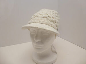 7bcfb8d51bf CALVIN KLEIN Woman s Winter Hat Honeycomb Cable Knit Beanie  Cream Almond  One Sz Women s Accessories ...