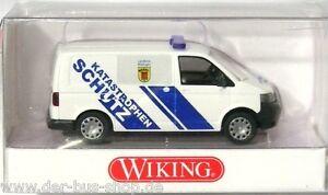 VW-Bus-T5-Modell-Wiking-1-87-H0-Katastrophenschutz-Boeblingen-NEU-amp-OVP