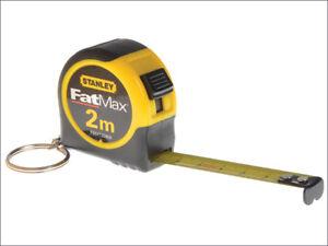 largeur 13 mm STA133856 Stanley Tools Porte-clés ruban 2 m