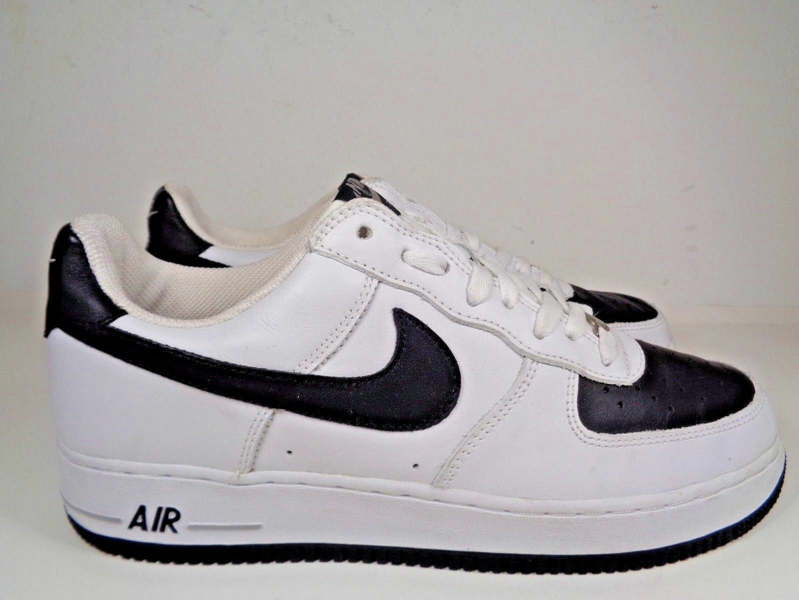 Mens Nike Air Force 1 1 1 White Black Neutral Basketball shoes size 11 US 306353-103 643be0