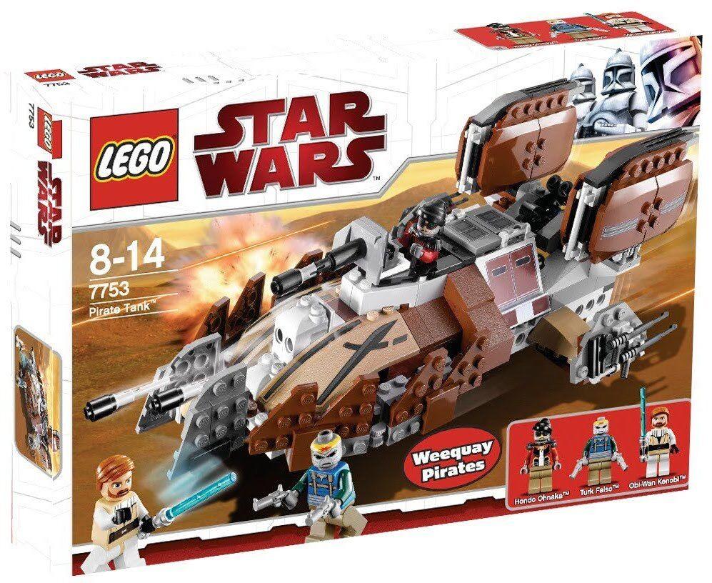 LEGO LEGO LEGO STAR WARS PIRATE TANK 7753 - NUEVO PRECINTADO SIN ABRIR. 9942cd