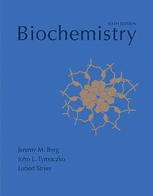 1 of 1 - Biochemistry: International edition by Jeremy M. Berg, Lubert Stryer, John L. Ty