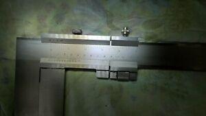 Schieblehre-mit-Nonius-800-mm-Werkstatt-Messschieber-Schnabel-150-mm-Spitze