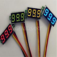 2 Mini Voltmetro Digitale DC 0-100V LED Pannello Tre Cifre Precisione Misura 1%
