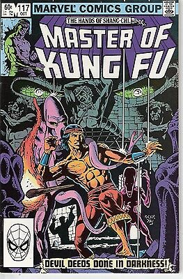 Master of Kung Fu #117 (Oct 1982) The Hands of Shang-Chi...Marvel Comics High Gr