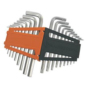 MAGNUSSON Metric Folding Hex Key Set 8 pcs