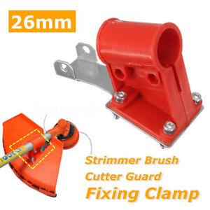 Strimmer-Guard-Fixing-Clamp-Set-For-Long-Reach-Trimmer-Brush-Cutter-26mm-Shaft