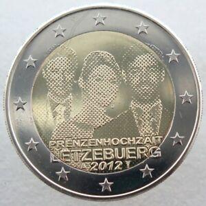 LU20012.3 - LUXEMBOURG - 2 euros commémo. Mariage du Prince Guillaume - 2012