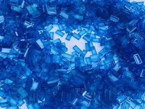 50 Brand NEW MIXED Small Cone Plate Brick Transparent Translucent Pieces Lego