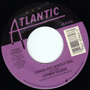 """DONNA ULISSE - Things Are Mostly Fine 7"""" 45"""