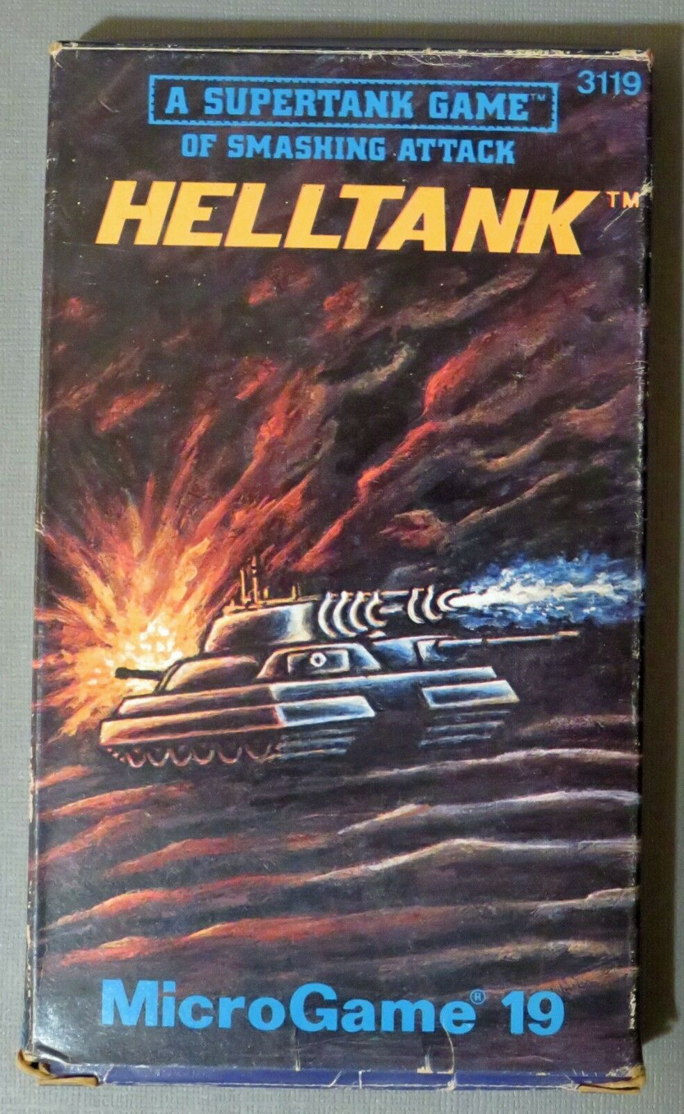 Helltank : A Supertank Game  Microgame 19 . 1981, Complete