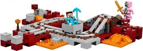 LEGO® Minecraft™ 21130 Die Nether-Eisenbahn NEU OVP/_The Nether Railway NEW MISB