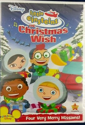 The Christmas Wish.Disneys Little Einsteins The Christmas Wish Dvd 2008 Four Merry Missions 786936766158 Ebay
