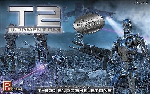 Pegasus Terminator 2 T -800 Endoskeleton Plastic modellllerler Kit 9217 PGH9217