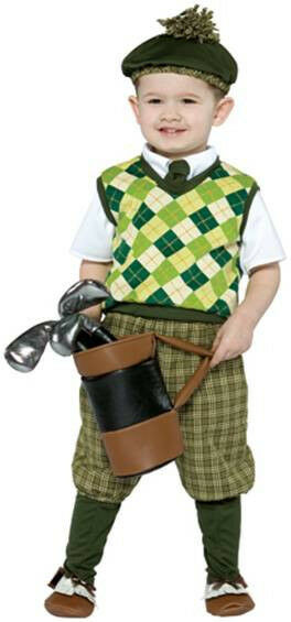Golfer Sports Future Professionals Dress Up Halloween Baby Infant Child Costume