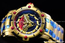 01b1e54803f1 Invicta 39mm Limited Edition DC Comics WONDER WOMEN Bolt 18k Gold Plated  Watch