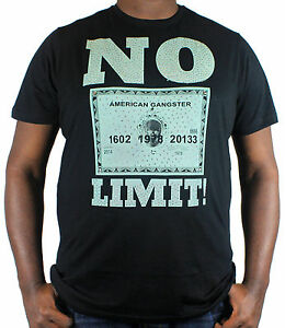 Mens Big And Tall T Shirts No Limit Money 3xl 5xl Retro Urban