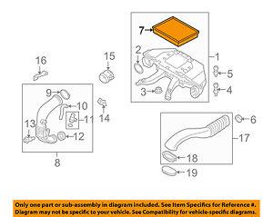 BMW-OEM-09-13-X5-Engine-Air-Cleaner-Filter-Element-13717798342