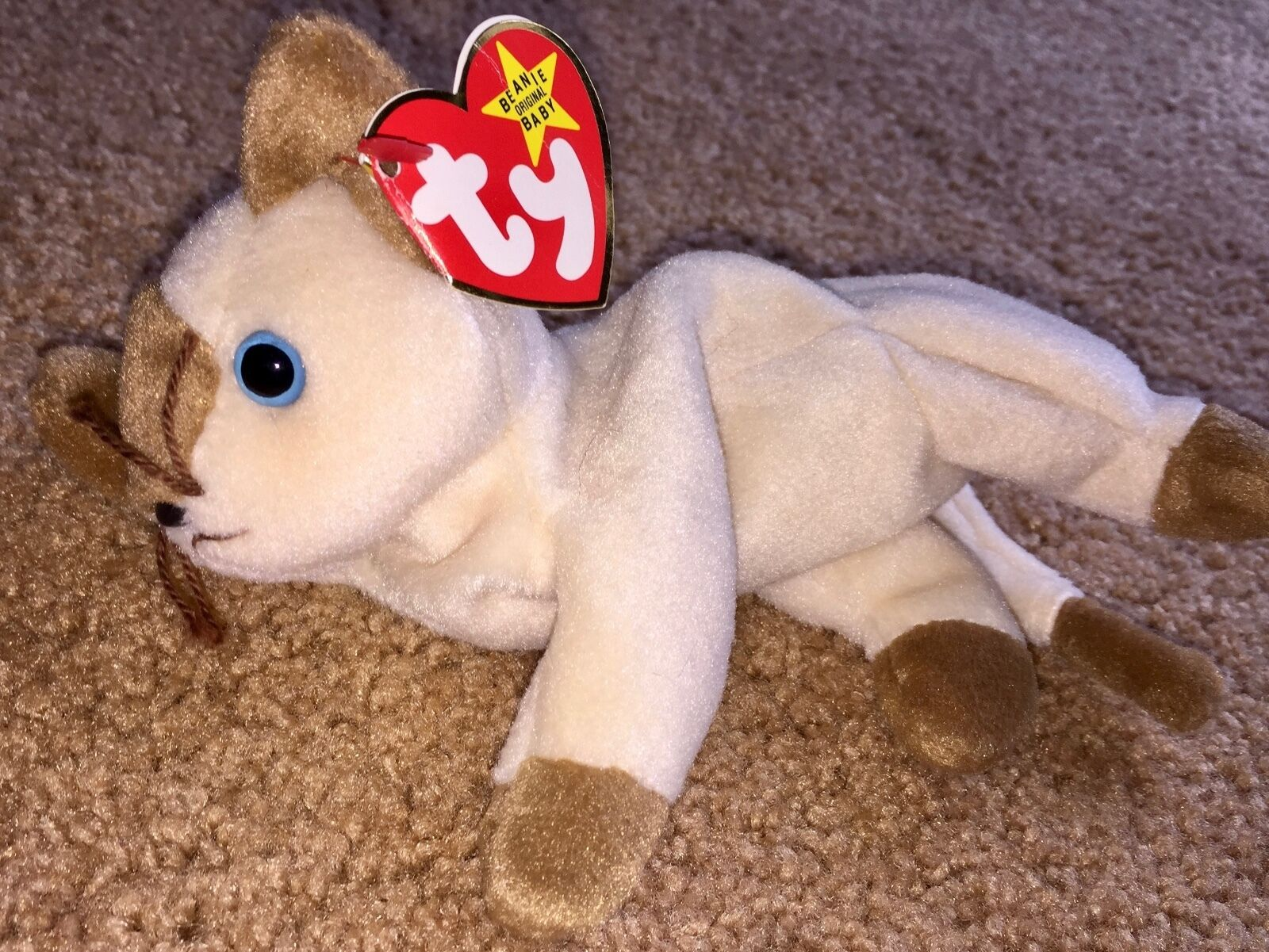 Ty beanie babies Snip Cat Retired 1996 1996 1996 Stuffed Plush Animal Pet b4ec7d