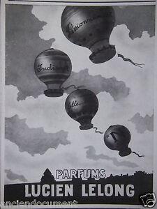 PUBLICITE-1943-PARFUMS-LUCIEN-LELONG-PASSIONNEMENT-INDISCRET-ADVERTISING