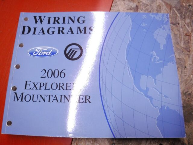 2006 Ford Explorer Mercury Mountaineer Factory Wiring