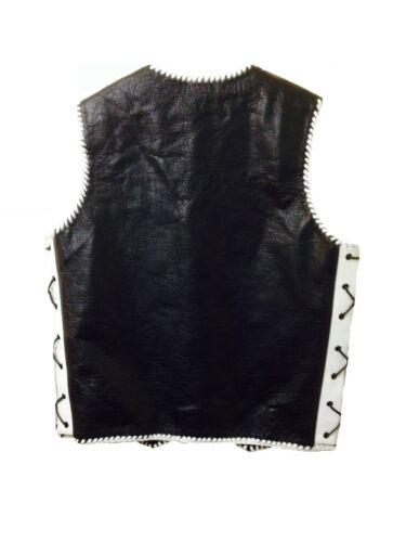 Motorcycle Vest Designer Motorbike Biker Rider Waistcoat Hand Leather Braid Vest