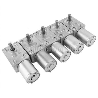 DC 6V//24V Schneckengetriebemotor Drehmoment Turbine Motor Getriebemotor