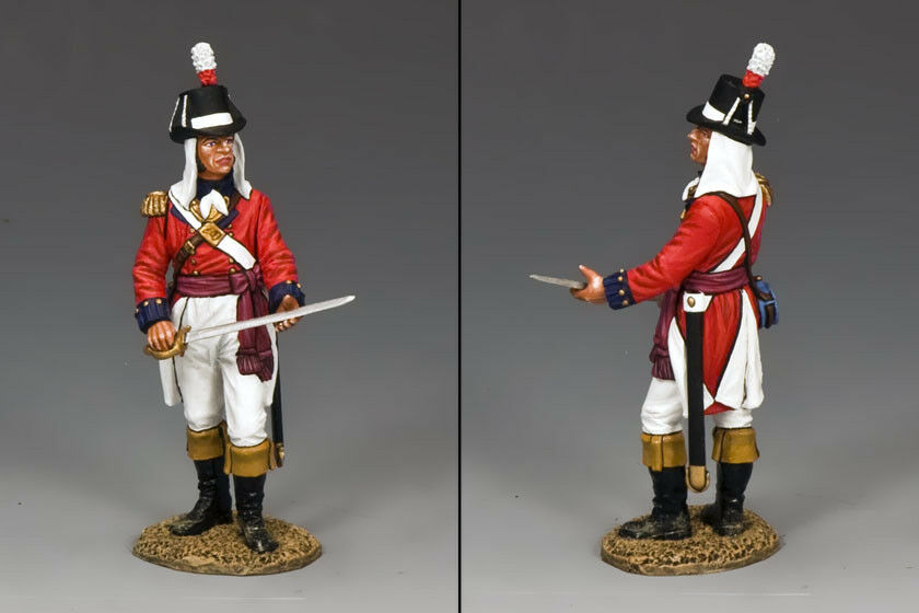 KING AND COUNTRY Napoleonic - Royal Marine Standing Officer NA271