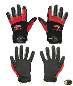 Saenger-Iron-Claw-Landehandschuhe-Anglerhandschuhe-Handschuhe-Gloves-Gr-L-amp-XL