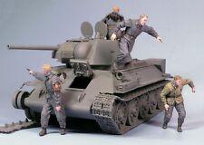 Tahk Tank 1:35 Escaping Soviet Tank Crew Winter 42-45 2 Resin Figures Kit T35101
