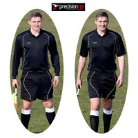 Precision Referee Complete Kit Shirt, Shorts And Socks Adult Sizes L, Xl, Xxl