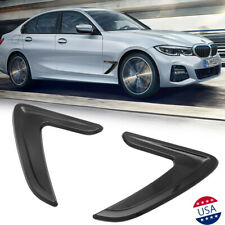 2pc Car Hood Side Fake Air Vent Outlet Grille Intake Trim For BMW bENZ VW AUDI