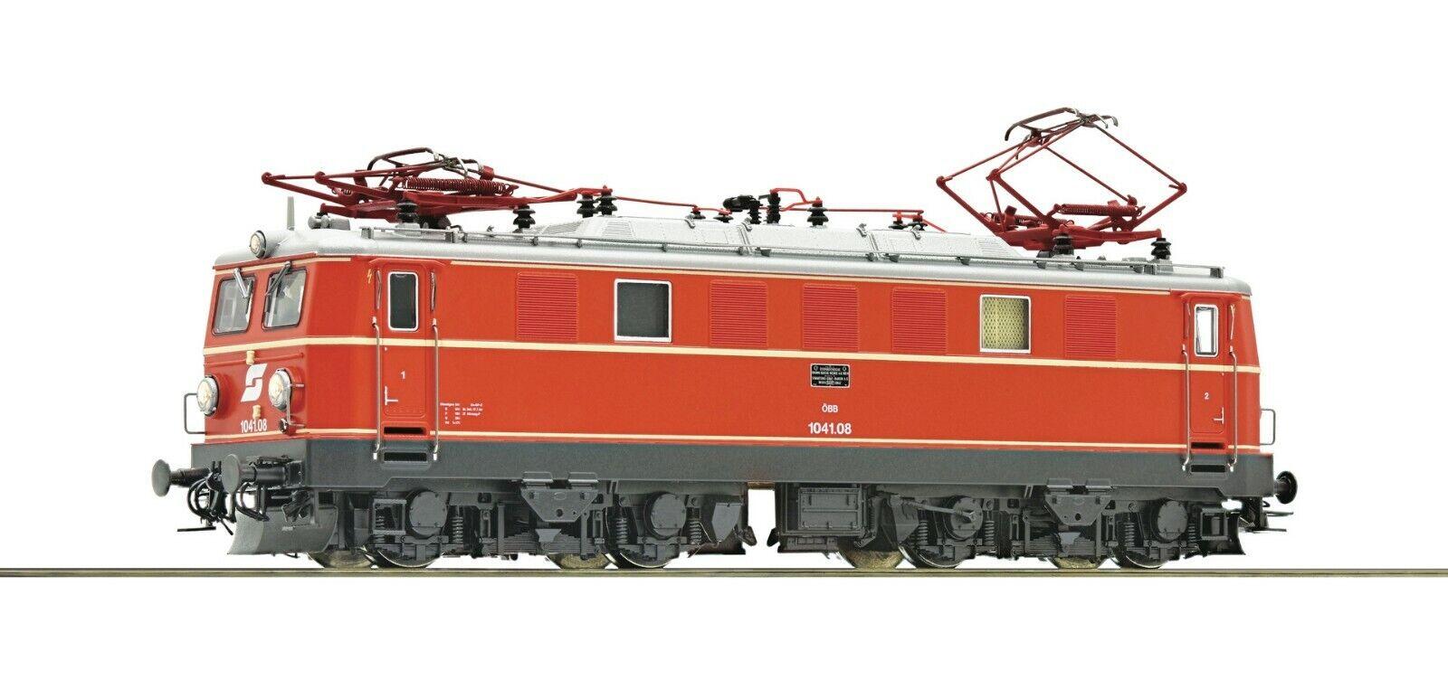 Roco ho scale, Locomotora eléctrica 1041,08, con audio, obb.