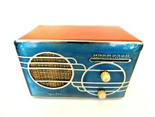 VINTAGE SPARTON CLOISONNE CHROME TRIM OLD ANTIQUE CATALIN BAKELITE TUBE RADIO