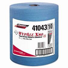 """Wypall X80 Blue Wiper Jumbo Rolls 12-1/2"""" x 13-2/5"""" 475 Sheets/Pack 41043 NEW"""