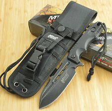 """9"""" G10 TACTICAL SURVIVAL Rambo Hunting FIXED BLADE KNIFE Bowie Combat MX-8136BK"""