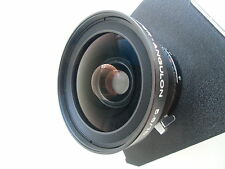 Schneider Super-Angulon 75mm /f5.6 MC lens, Copal shutter, Toyo-View lensboard