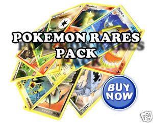 10-Rare-Pokemon-Cards-Pack-No-duplicates-NEW
