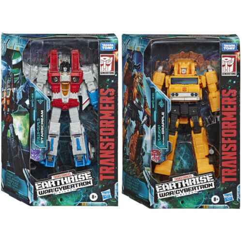 Transformers Earthrise WAR for Cybertron Action Figure-STARSCREAM o Rampino