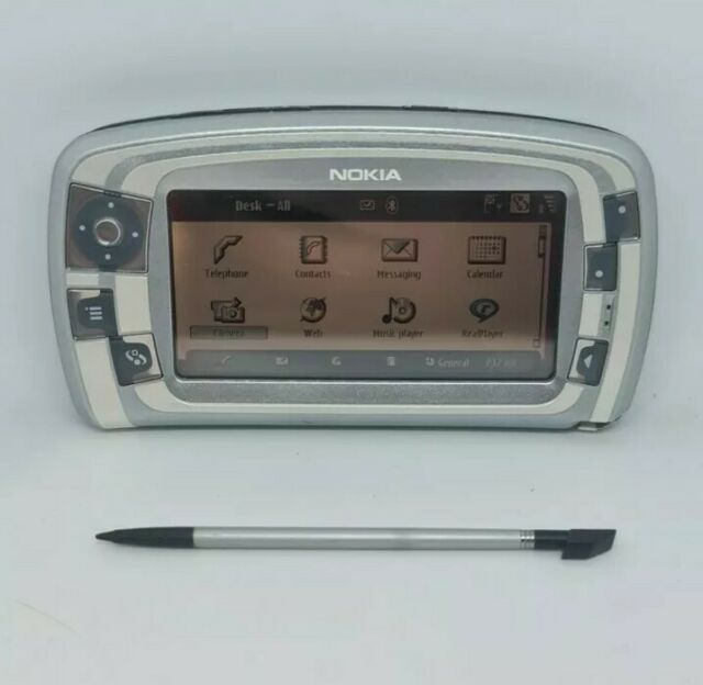 Nokia 7710-silber Retro Vintage Handy Super seltene Original Sammler