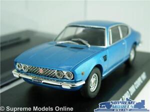 FIAT-DINO-2000-COUPE-modello-auto-scala-1-43-Blu-Vetrina-1967-Norev-K8