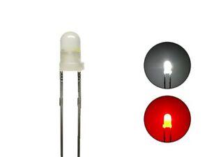 Sur De Soi S630 - 10 Pièces Duo Led 3mm Bi-color Diffuse Blanc Rouge Lumière Changement Locomotives Wendezug-afficher Le Titre D'origine Dans La Douleur